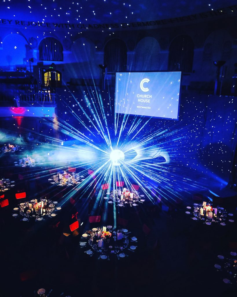 Church House Westminster Christmas Party London Exclusive Office Xmas