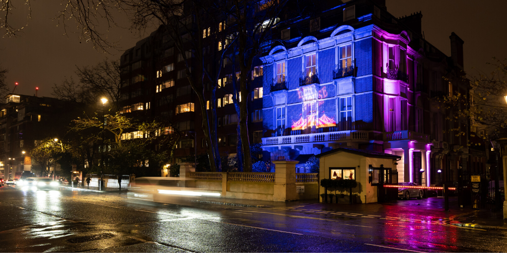 Kent House Christmas Party Office Work Party Exclusive Knightsbridge