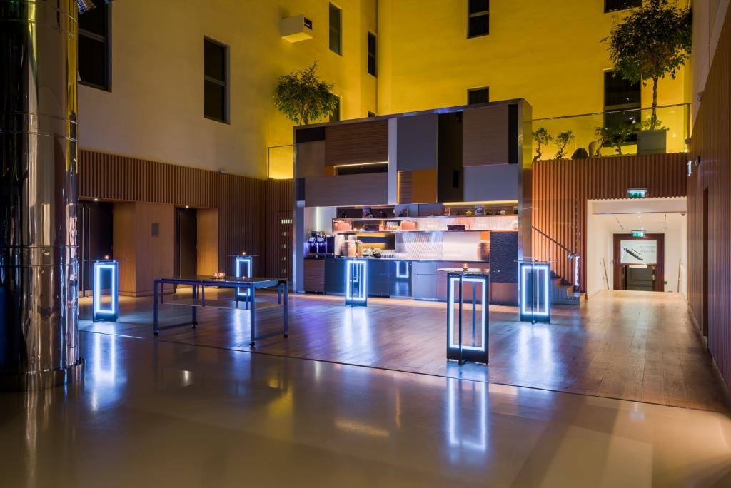 Andaz Liverpool Street Christmas Party Exclusive Hotel Work Office Xmas