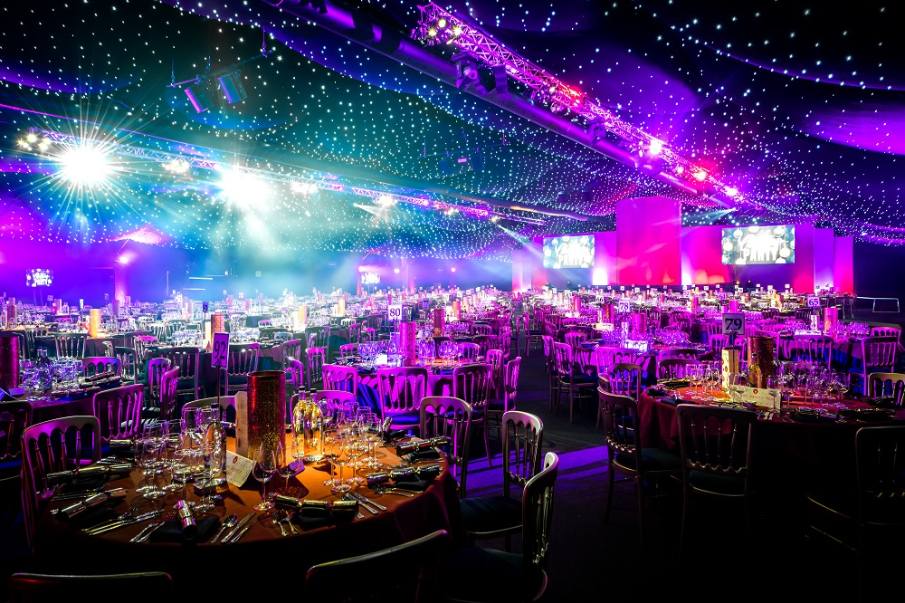 HAC Marquee Christmas Party Moorgate EC1 Finsbury Square London