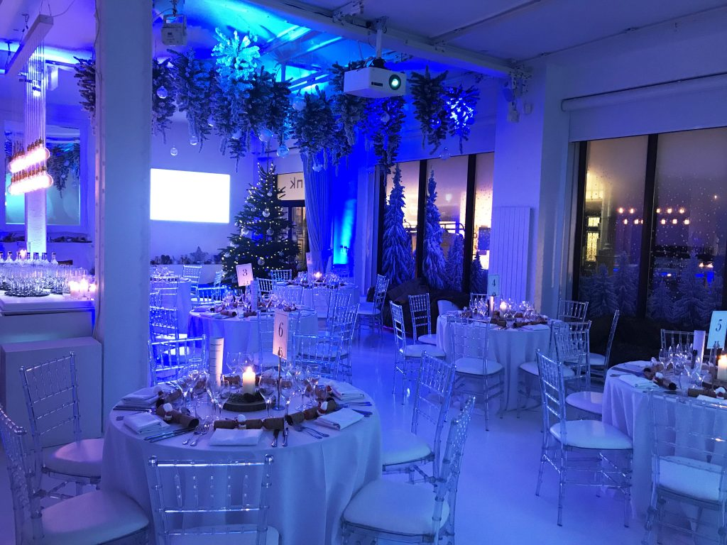 Ice Tank Christmas Party London Exclusive Xmas Office