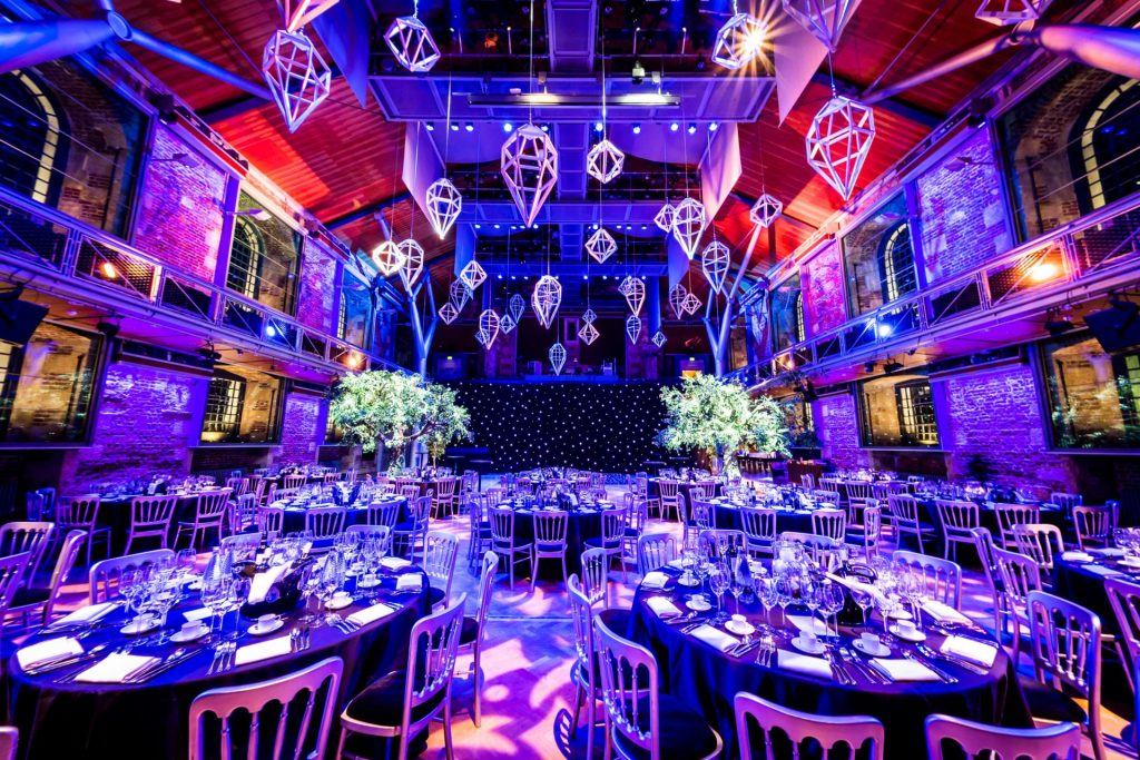 LSO St Lukes Christmas Party London Shoreditch Office Work Xmas