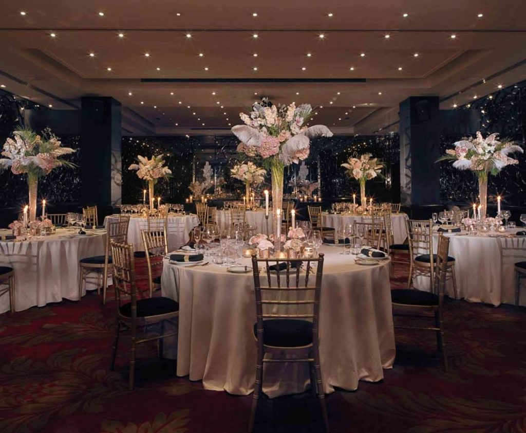 Mayfair Hotel Christmas Party London W1 Central Work Office Xmas