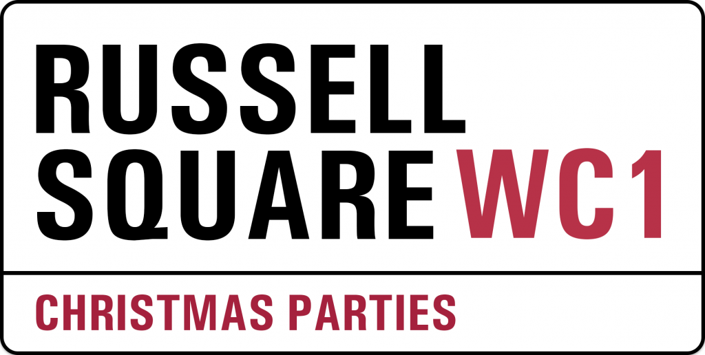 Russell Square WC1 Christmas Parties Office Xmas Work Venue